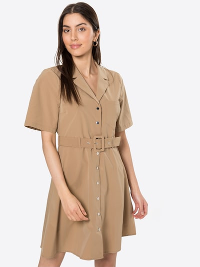 OBJECT Kleid 'FRIGG' in camel, Modelansicht