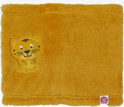 Affenzahn Kinderschal 'Tiger' in gelb, Produktansicht
