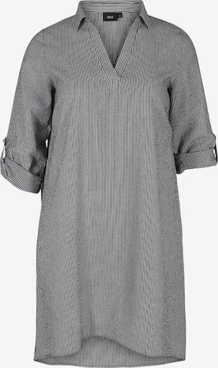 Zizzi Shirt dress 'Mlene' in Black / White, Item view