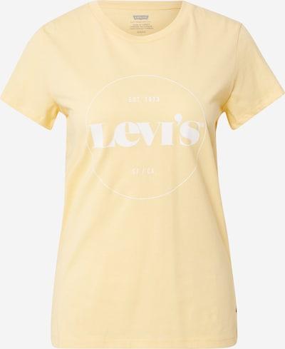 LEVI'S T-Shirt in hellgelb / weiß, Produktansicht