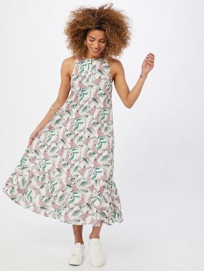 DRYKORN Kleid 'ABIGALE' in gelb / grün / rosa / weiß, Modelansicht