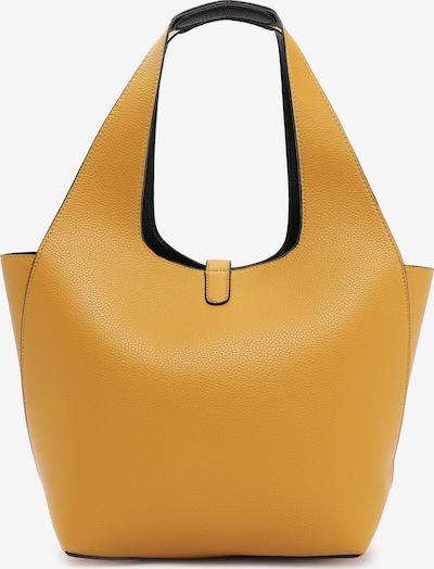 TAMARIS Shopper 'Cordula' in gelb / schwarz, Produktansicht