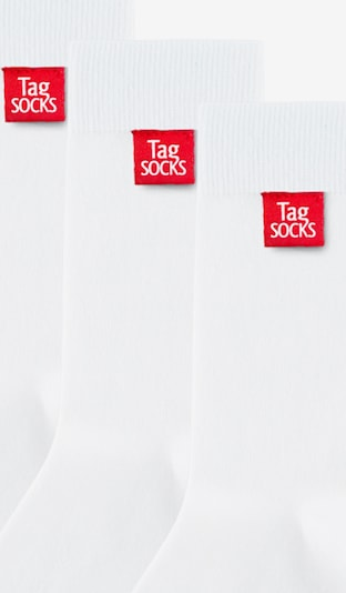 Tag SOCKS Sokken in de kleur Wit, Productweergave