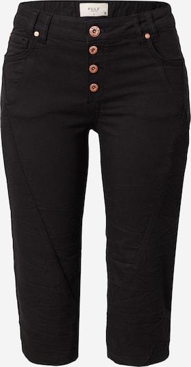 PULZ Jeans Broek in de kleur Zwart, Productweergave