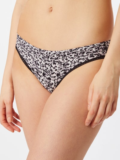 Calvin Klein Underwear Klasične gaćice u nude / crna: Prednji pogled