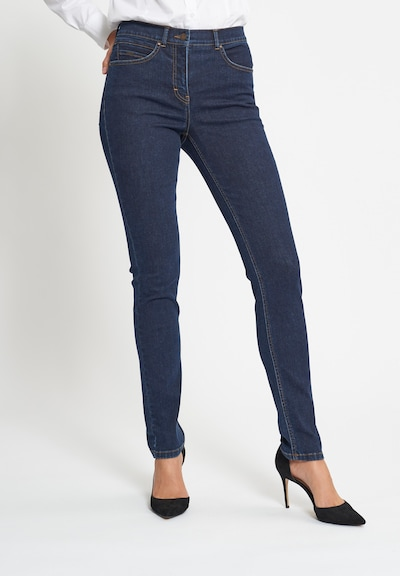 LauRie Jeans 'AGATHA' in blau, Modelansicht