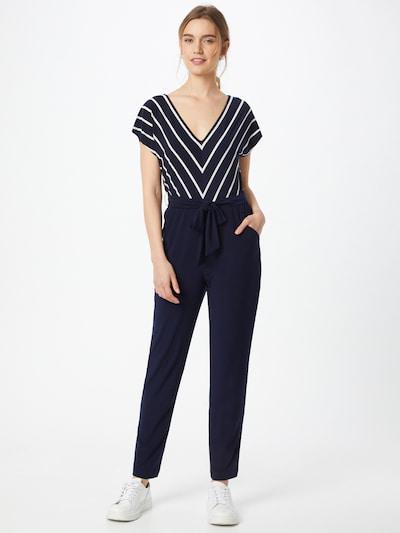 Lauren Ralph Lauren Kombinezon 'DEIRDRE' u mornarsko plava / bijela, Prikaz modela