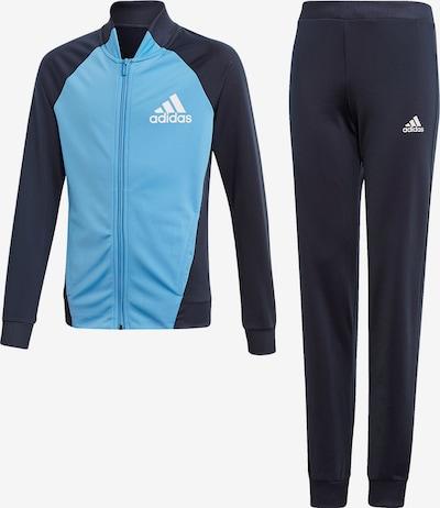 ADIDAS PERFORMANCE Jogginganzug 'Pes Ts' in nachtblau / hellblau, Produktansicht