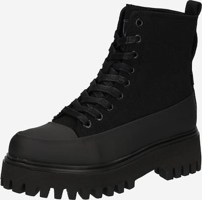 BRONX Snørestøvletter i sort, Produktvisning