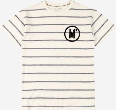 Marc O'Polo Junior Majica u crna / bijela, Pregled proizvoda