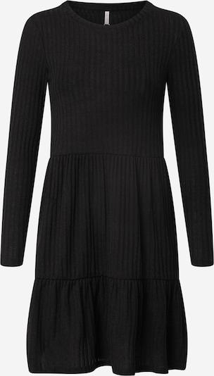 Hailys Robes en maille 'Alva' en noir, Vue avec produit