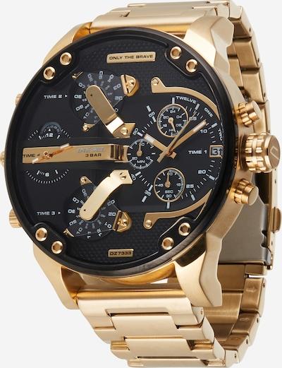 DIESEL Reloj analógico 'MR DADDY 2.0' en oro / negro, Vista del producto