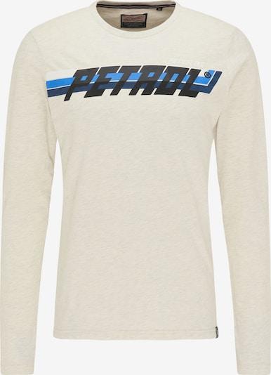 Petrol Industries Tričko - starobéžová / modrá / noční modrá / černá / bílá, Produkt
