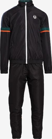 Sergio Tacchini Trainingsanzug 'CRYO TRACKSUIT' in schwarz, Produktansicht