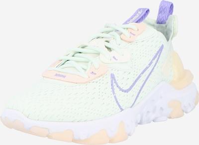 világoszöld / lila Nike Sportswear Rövid szárú edzőcipők 'React Vision', Termék nézet