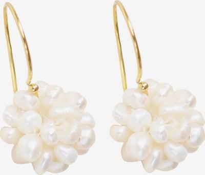 Matica Jewellery Oorbellen in de kleur Goud / Parelwit, Productweergave