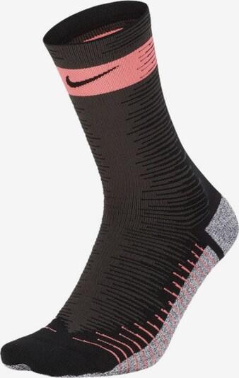 NIKE Sportsocken in grau / pink / schwarz, Produktansicht