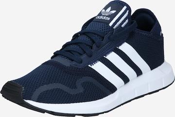 ADIDAS ORIGINALS Rövid szárú edzőcipők 'Swift Run X' - kék
