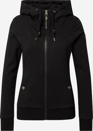 Ragwear Sweatjacke 'DEVALI' in schwarz, Produktansicht