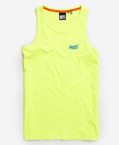 Superdry Shirt in de kleur Neongeel, Productweergave