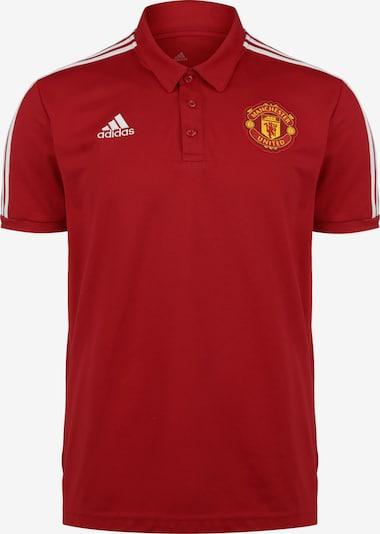 ADIDAS PERFORMANCE Poloshirt in gelb / rot / weiß, Produktansicht