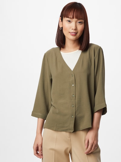 JACQUELINE de YONG Blouse in Khaki, View model