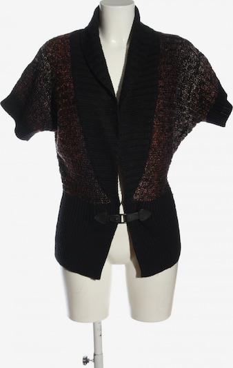 SURE Cardigan in M in braun / schwarz / wollweiß, Produktansicht