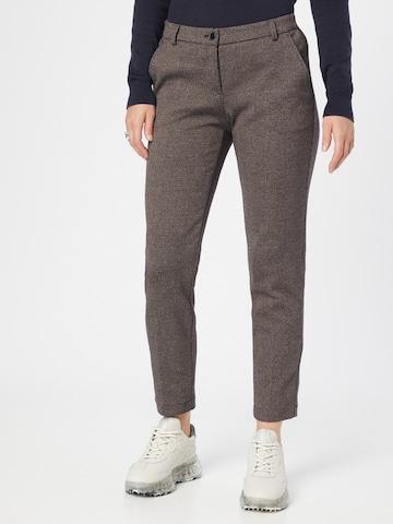 BRAX Chino Pants 'Maron' in Brown
