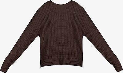 myMo NOW Pullover in dunkelbraun, Produktansicht