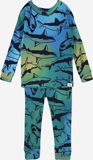 GAP Schlafanzug in blau / navy / gelb, Produktansicht