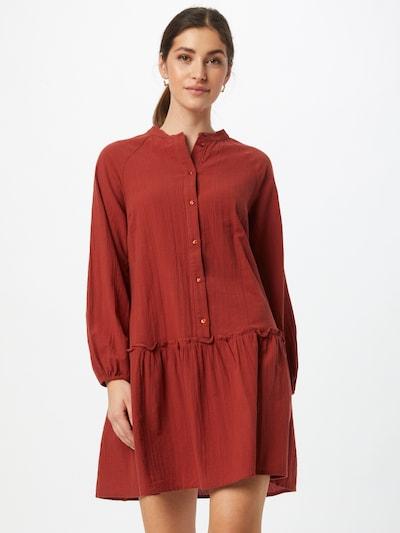 PIECES Kleid in rostrot, Modelansicht