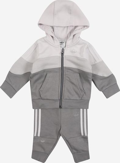 ADIDAS ORIGINALS Jogginganzug in grau / graumeliert, Produktansicht