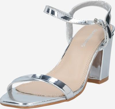 GLAMOROUS Strap sandal in silver, Item view