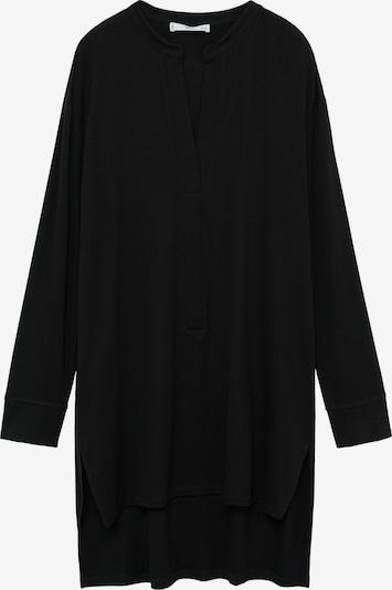 MANGO T-shirt oversize 'Albano' en noir, Vue avec produit