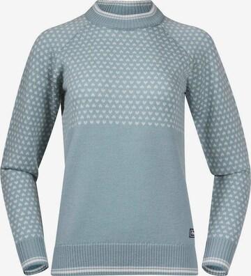 Bergans Sweter sportowy w kolorze niebieski