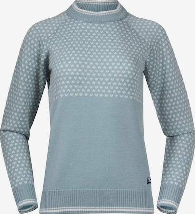 Bergans Athletic Sweater in Pastel blue / White, Item view