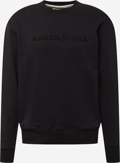 anerkjendt Sweatshirt 'TRISTIAN' i svart, Produktvy