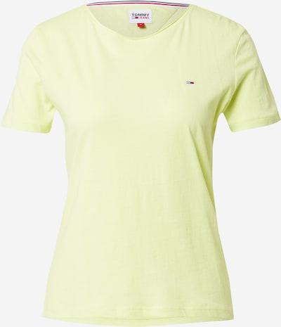 Tommy Jeans Majica u mornarsko plava / kivi zelena / crvena / bijela, Pregled proizvoda