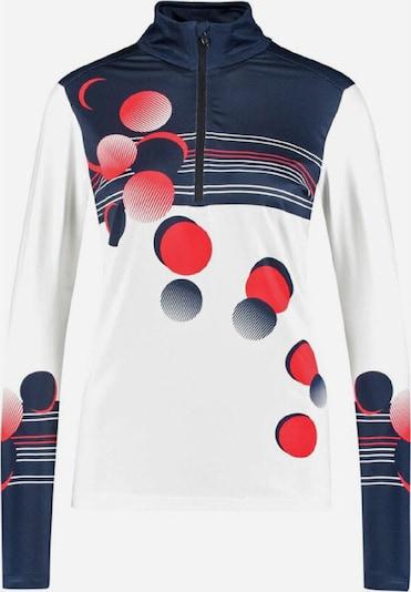 CMP Sweatshirt ' 56ZD ' in blau / rot / weiß, Produktansicht