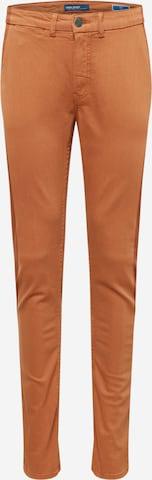 BLEND Chinobyxa 'Multiflex' i orange