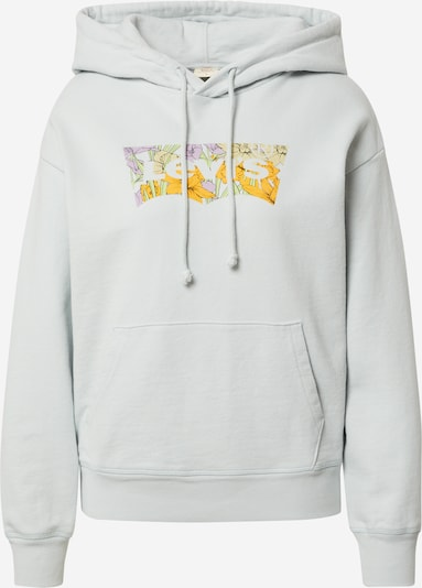 LEVI'S Sportisks džemperis, krāsa - jūraszils / dzeltens / debesu lillā / pūderis / balts, Preces skats