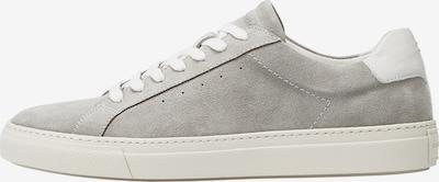 Marc O'Polo Baskets basses en gris / argent / blanc, Vue avec produit