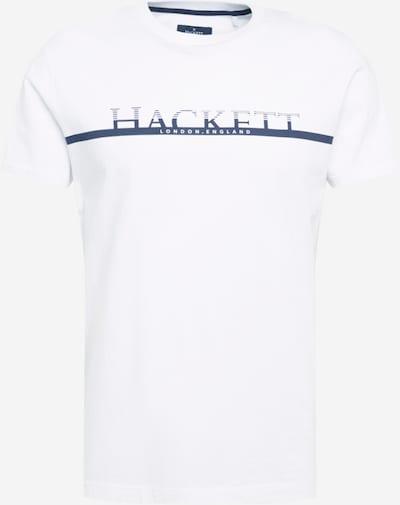 Hackett London Majica u tamno plava / bijela, Pregled proizvoda