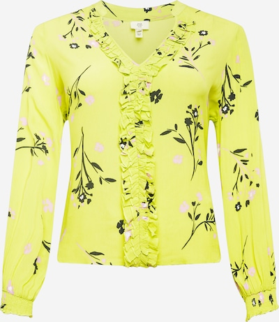 River Island Plus Blouse in de kleur Groen / Limoen, Productweergave