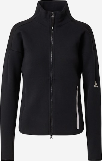 ADIDAS PERFORMANCE Sportovní mikina s kapucí - černá / bílá, Produkt