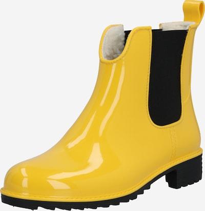 RIEKER Gummistiefel in gelb / schwarz, Produktansicht