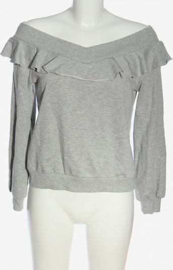 find. Sweatshirt in M in hellgrau, Produktansicht