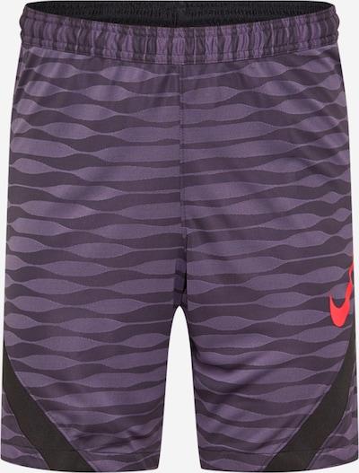 Sportinės kelnės iš NIKE , spalva - baklažano spalva / raudona / juoda, Prekių apžvalga