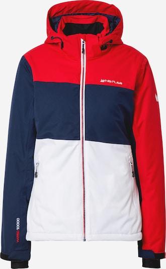 Whistler Udendørsjakke 'Kamille W Ski Jacket W-PRO 10000' i mørkeblå / lys rød / hvid, Produktvisning