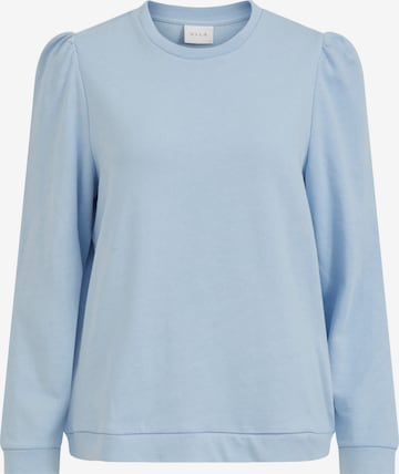 VILA Sweatshirt i blå